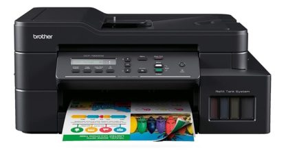 Impresora Multifunción Color Sistema Continuo Brother InkBenefit DCT T820 DW   PORTAL INSUMOS
